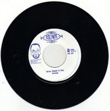 Luciano - Three Meals A Day / Mad Professor - A Dub A Day (Ariwa) UK 7""